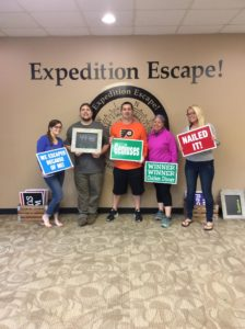 Montgomeryville, PA: The Thing to Do Tonight is Expedition Escape