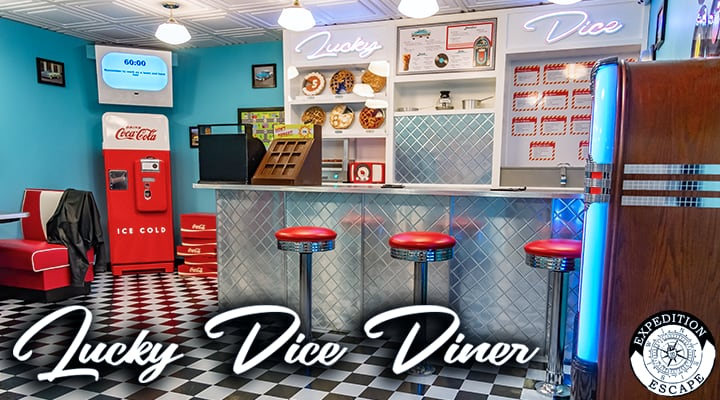 Lucky Dice Diner Escape Room Game - King of Prussia