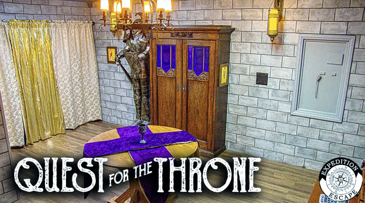 Quest for the Throne Escape Room - Expedition Escape