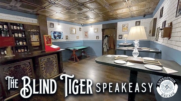 The Blind Tiger Speakeasy Escape Room Game King of Prussia