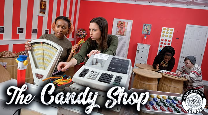 The Candy Shop Escape Room Game Montgomeryville