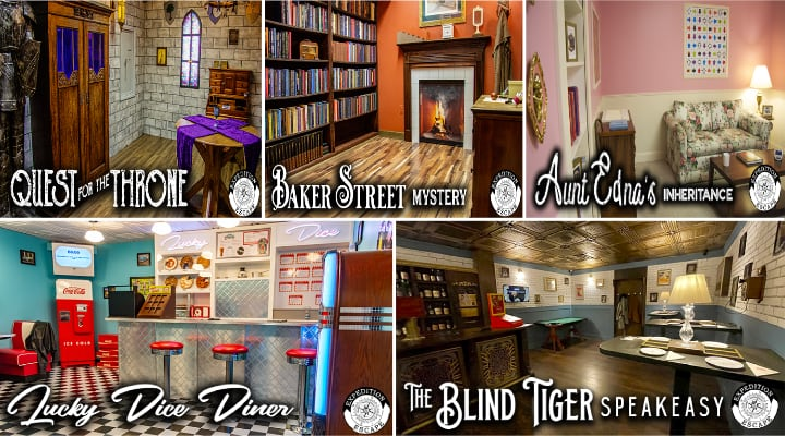 The Ultimate Escape Room Adventure Package King of Prussia, PA